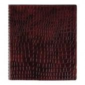Недатированный еженедельник Croco, А5, 48 листов, вишневый