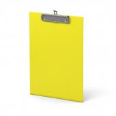 Планшет А4  Neon мет.зажим желтый