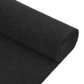 Бумага гофрированная черная в рулоне