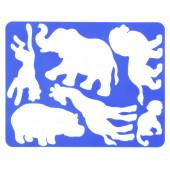 """Трафарет """"Животные Африки"""" Луч"""