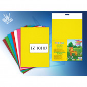 Набор цветной бархатной бумаги, 7 цв