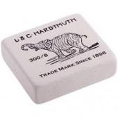 """Ластик Koh-I-Noor """"Elephant"""" 300/40, прямоугольный, натуральный каучук, 35,5*23*8мм, ч/б"""