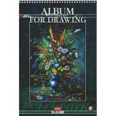 Альбом для рисования 32л спир Живопись для души тисн перф жест подлож 32А4тВсп ассорти 5 видов