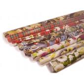 Бумага упаков.ассорти 25 листов