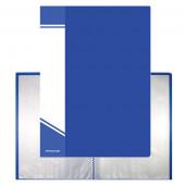 Папка 20 файлов А5 0,6мм NP01A5-20B син