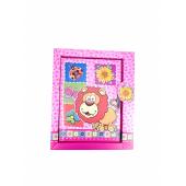 Записная книжка детская с замочком ЖИВОТНЫЕ, в подарочной упаковке, 15х18см, 4 цвета в ассортименте.