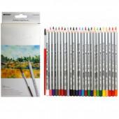 карандаши 24цв marco акварель