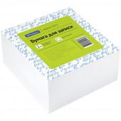 Блок для записи OfficeSpace, 9*9*4,5см, белый в клетку 153177