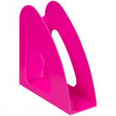 """Лоток для бумаг вертикальный Berlingo """"Mega Top"""" неоновый розовый MLv_00713"""