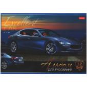 Альбом для рисования 12л  Автостиль глянц лам 12А4В ассорти 5 видов