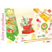 Альбом для рисования 24л Sweet Story выб лак 24А4B ассорти 5 видов