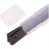 Лезвия для канцелярских ножей OfficeSpace, 9мм, 10шт., в пластиковом пенале BLCUT9_1367/ 178795