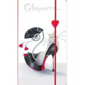 """Визитница на 120 визиток """"Glamour cats"""""""