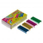 Скобы к степлеру №10 /J.Otten/ 1000шт, цветные 81381