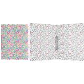 """Папка на 2-х кольцах Erich Krause """"Lines"""", 24мм, 550мкм, с рисунком 45340"""